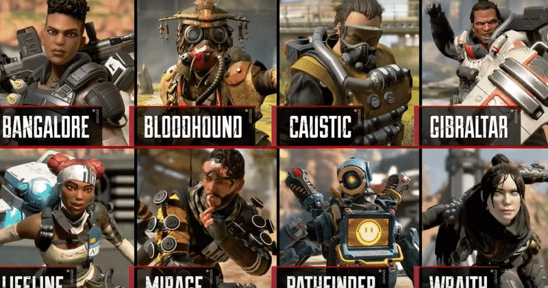 Different Playable Characters