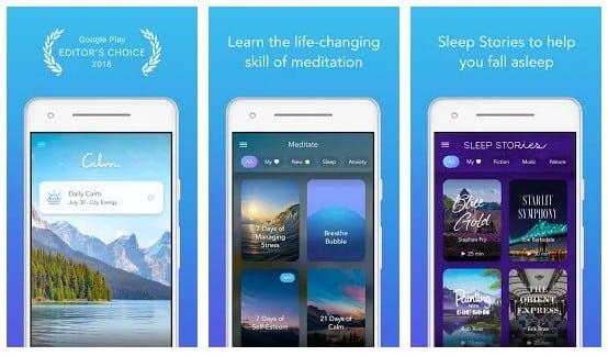 15 Aplikasi Meditasi Buat Mencegah Depresi Bikin Rileks! - Calm