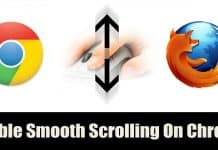 How To Enable Smooth Scrolling Feature In Google Chrome