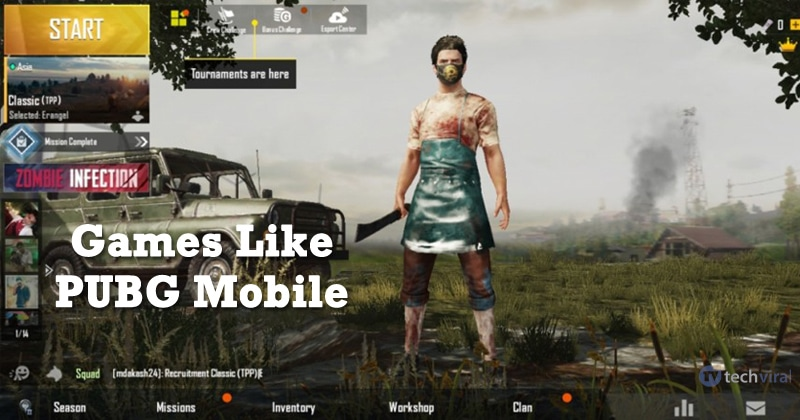 10 Best Games Like Pubg Mobile For Android And Ios 2020