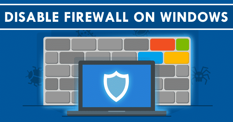 How To Disable Firewall On Windows 8 8.1 10 Operating System - Best Computer Tricks 2019 and Hacks for Your Window PC