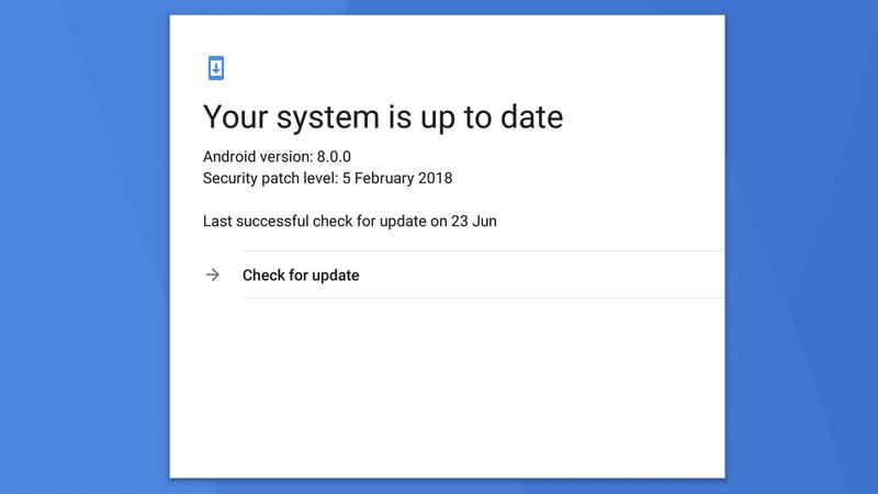 The OS Upgrades