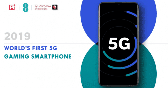 OnePlus To Launch World's First 5G Gaming Smartphone