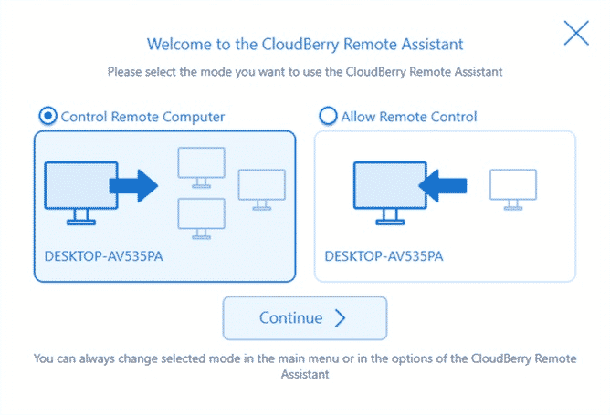 Step 2 R - How To Remotely Control Any Windows PC With CloudBerry Remote Assistant