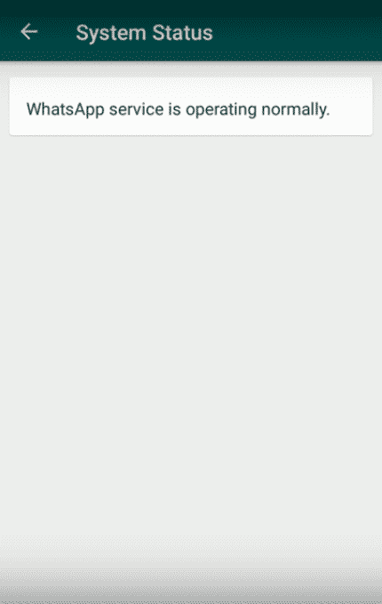 Step 3 WA - How To Know WhatsApp Server Status In Real-time
