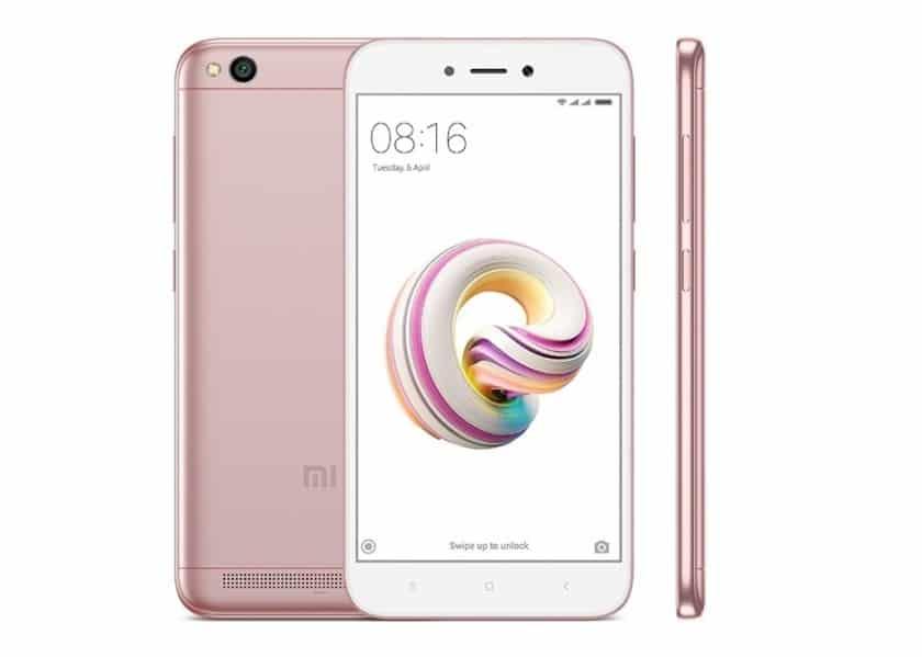 Xiaomi Redmi 5A - 10+ Best Xiaomi Smartphones That You Can Buy In 2019