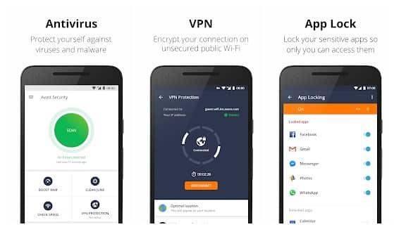 Avast Antivirus - Mobile Security e Virus Cleaner
