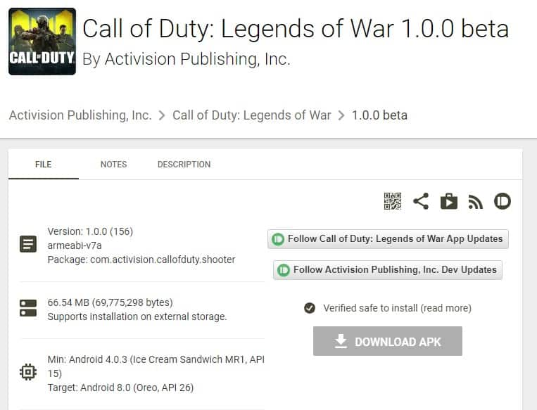 Download & Install Call of Duty Mobile