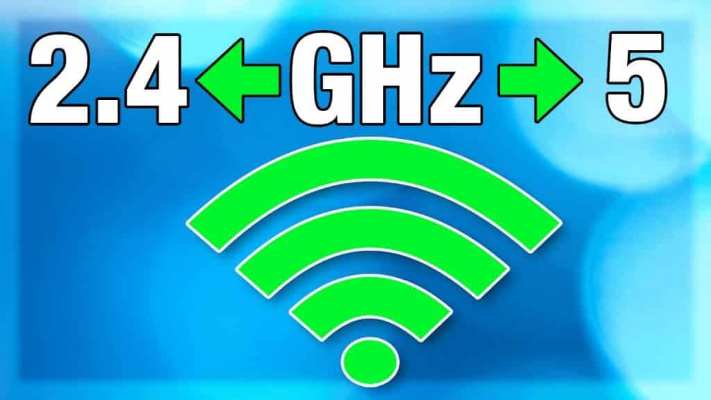 Choose between 2.4 GHz and 5 GHz WiFi band