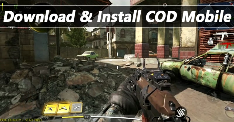 Call Of Duty Mobile Download Install The Game Right Now