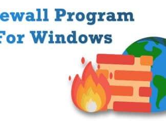 Top 8 Best Firewall Software For Windows 10