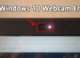 How To Fix Webcam Error Code 0xa00f4243 On Windows 10