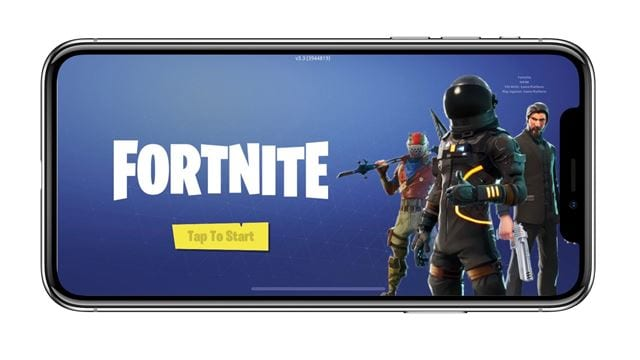 Install Fortnite on iOS
