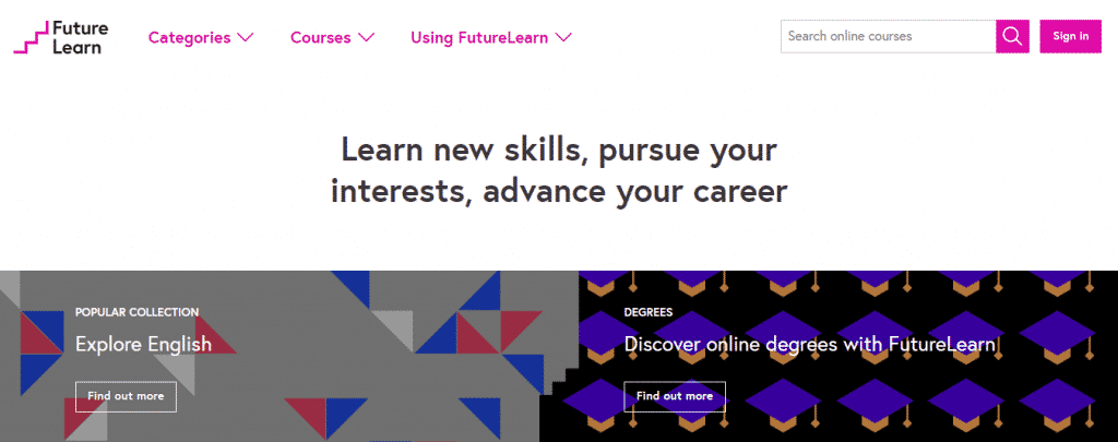 FutureLearn 1024x405 - 11 Websites Where You Can Learn Anything For Free