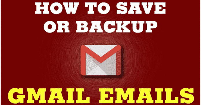 How To Back Up All Your Gmail Emails To Your Computer Hard Drive