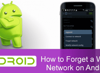 How To Forget Saved WiFi Connections On Any Android Device