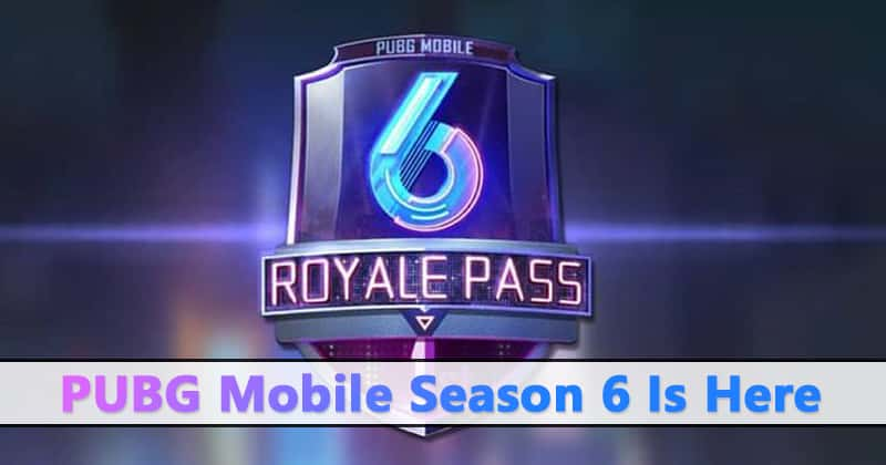 PUBG Mobile Season 6: Release Date, New Vehicles, Guns & More