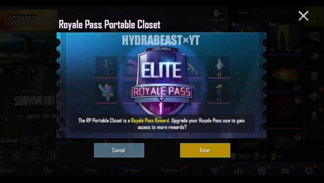 PUBG Mobile Prime Membership