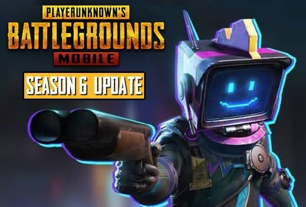 PUBG Mobile Season 6 Is Here