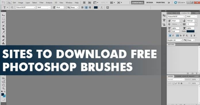 Top 8 Best Sites To Download Free Photoshop Brushes 2019