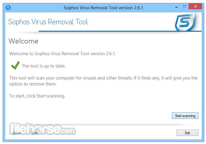 Suppression des logiciels malveillants Sophos