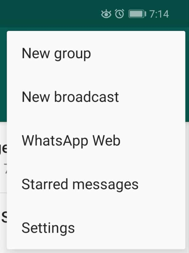 Step 4 app - How To Mute/Disable Groups On WhatsApp