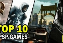 10 Best PSP Video Games Of All Time