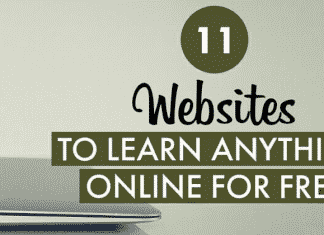 11 Websites Where You Can Learn Anything For Free