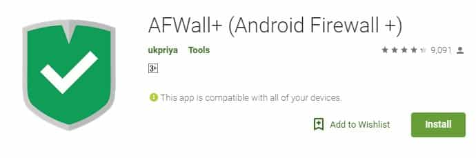 Using AFWall+