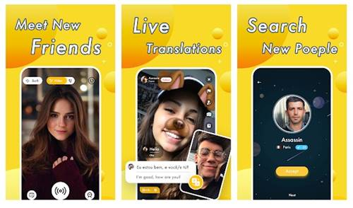 Chat app strangers without with video online Live Video