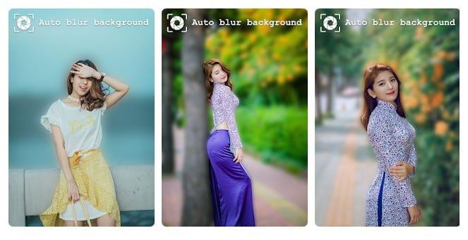 Auto Blur Background DSLR