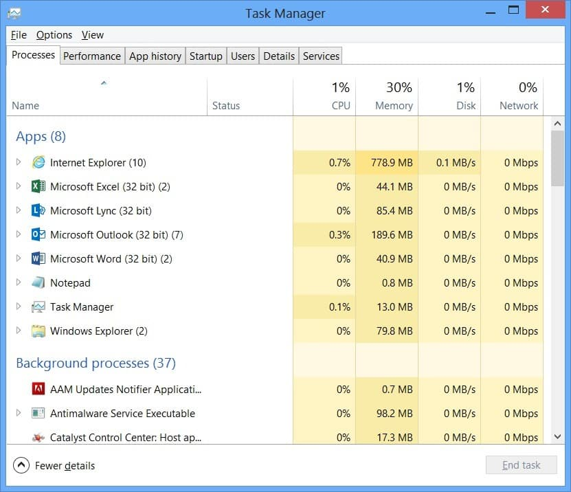 Find and Close The Process From Task Manager