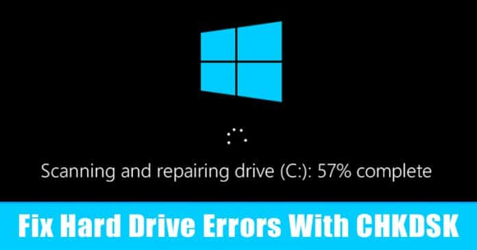 How To Scan & Fix Hard Drive Errors With CHKDSK In Windows 10