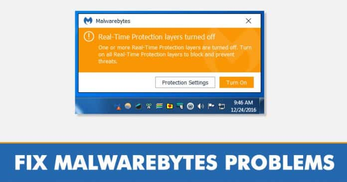 How To Fix Malwarebytes Real Time Protection Not Starting Problem