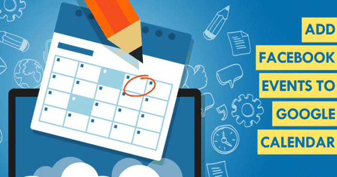 How To Add Facebook Events To The Google Calendar