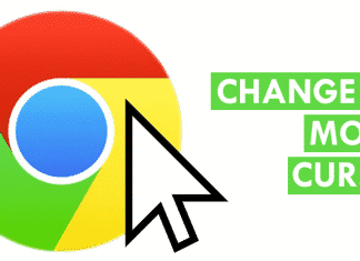 How To Change The Mouse Cursor In Google Chrome Browser