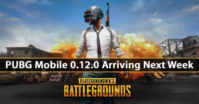 PUBG Mobile 0.12.0 Arriving Next Week - Check Out The Features