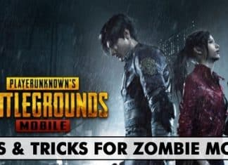 Top Best Tips & Tricks For PUBG Mobile Zombie Mode