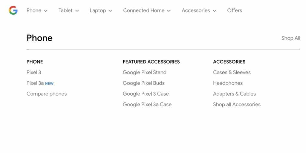 Pixel 3a 1 1024x512 - Google Accidentally Confirmed The New Pixel 3a & Pixel 3a XL On Its Official Website