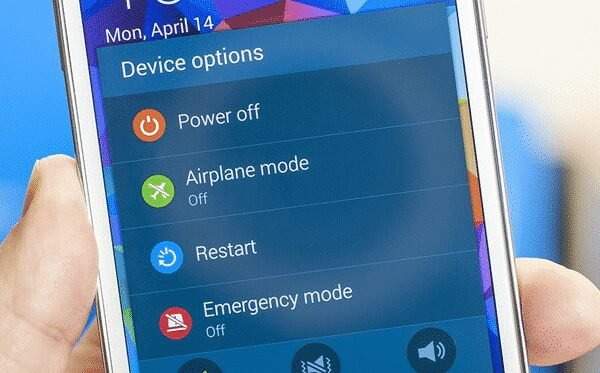 Restart your Android smartphone