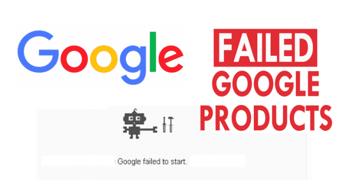 Top 10 Failed Google Products