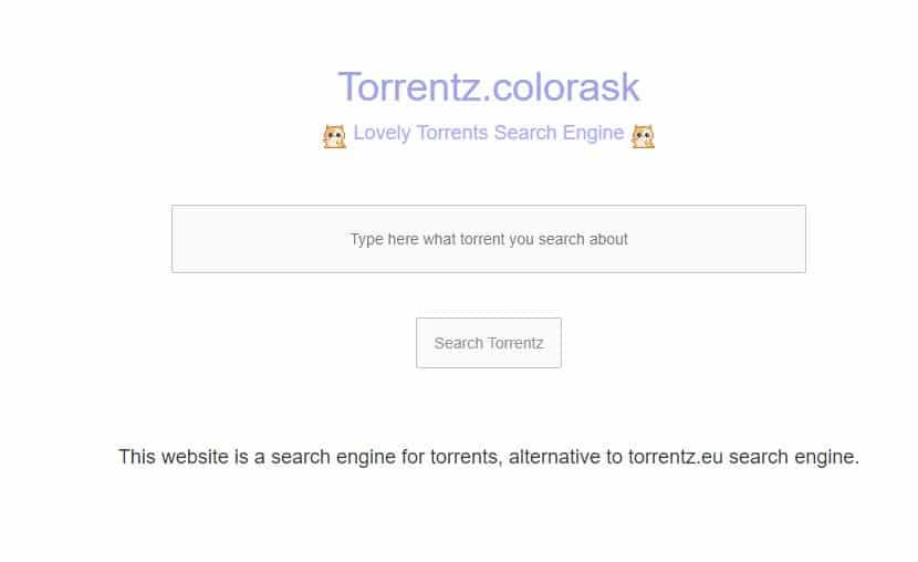 Torrentz Colorask