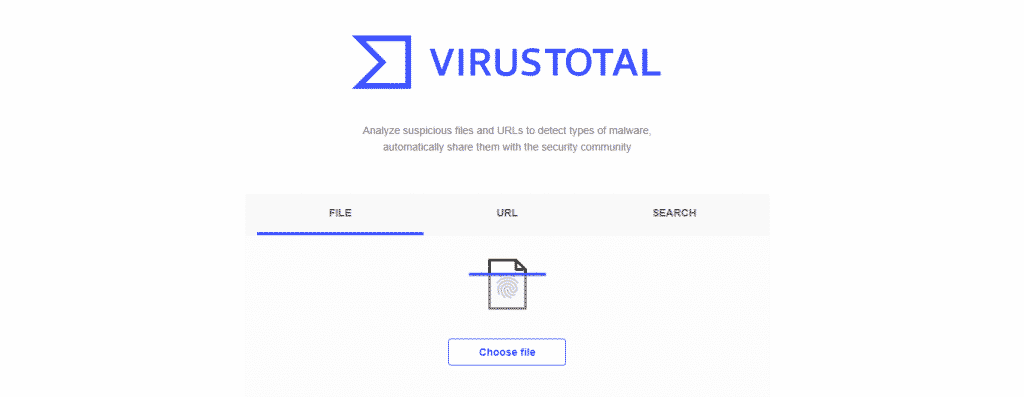 VirusTotal 1024x397 - Top 10 Most Reliable Free Online Antivirus Tools in 2019