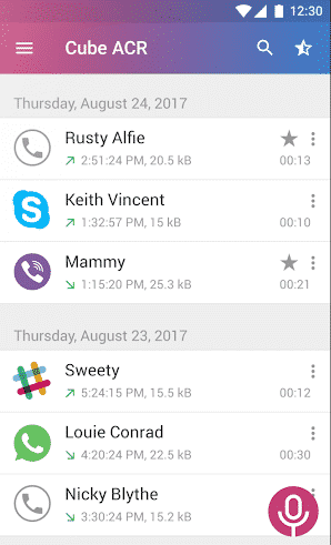 ACR 3 - How To Record WhatsApp Video And Voice Calls On Android