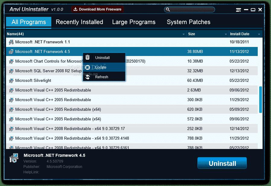 √ 15 Aplikasi Uninstaller Memudahkan Menghapus Program - Anvi Uninstaller
