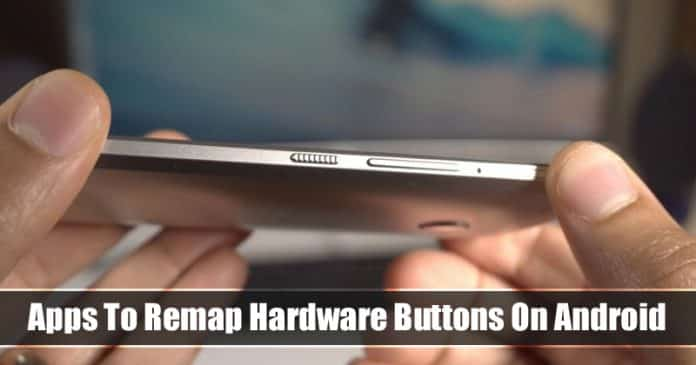 Top 5 Best Apps To Remap Power Or Any Hardware Buttons On Android