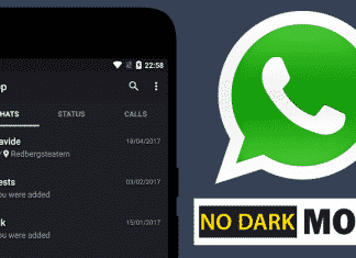 BAD NEWS! No Dark Mode Feature For WhatsApp
