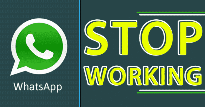BAD NEWS! WhatsApp Will Stop Working On These Smartphones