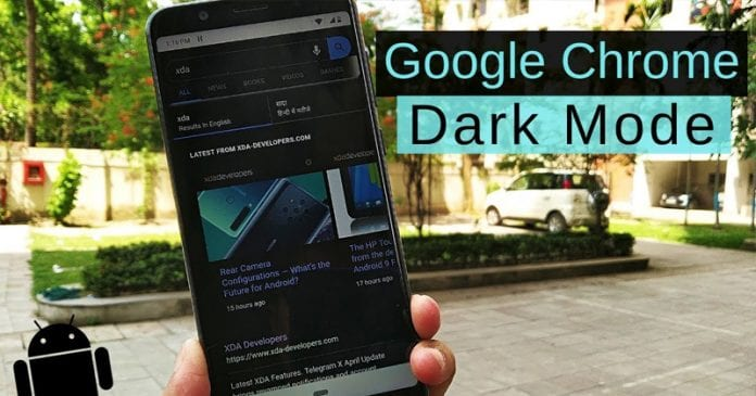 How To Activate The Hidden Dark Mode On Chrome For Android