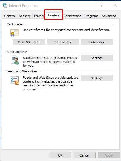 Clear SSL Certificate Cache